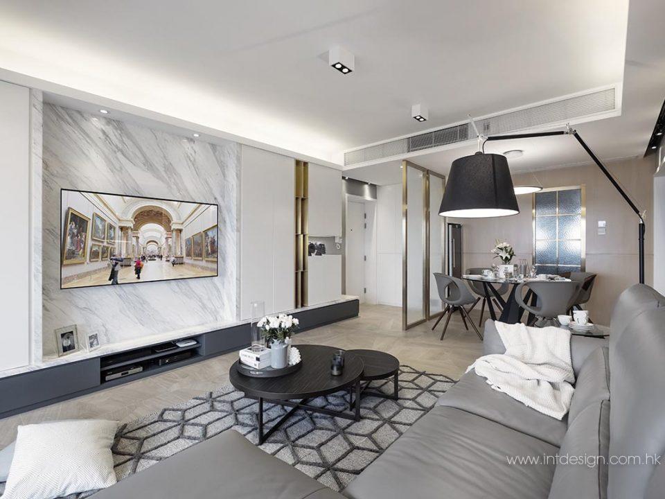 Hilltop Mansion's Interior Design