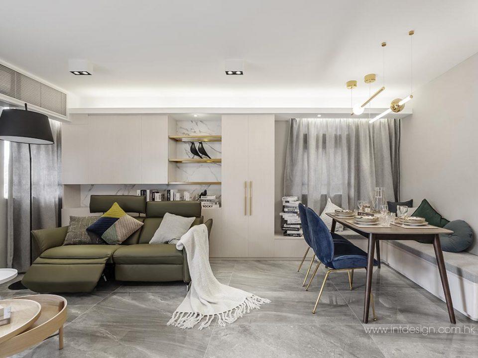 Fu Keung Cour's Living and Dining Interior Design